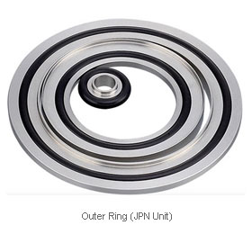vacuum flange - Outer ring